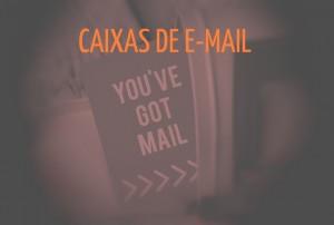 Caixas de email